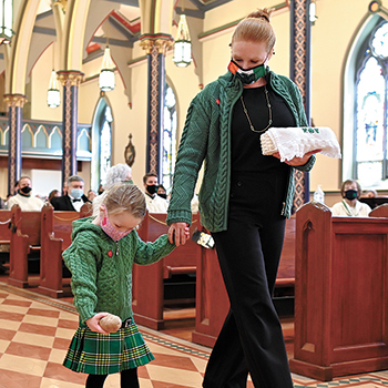 St. Patrick's Day Mass in Morristown