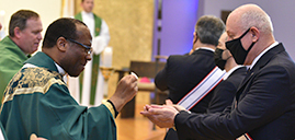 Father Williams installed as pastor of Oak Ridge, Stockholm parishes