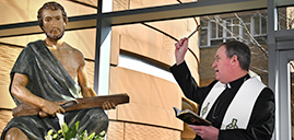 Bishop Sweeney marks one-year anniversary as Shepherd of the Diocese