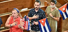 Church stands with people of Cuba