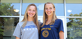 Twins' togetherness leads them to be co-valedictorians at Pope John
