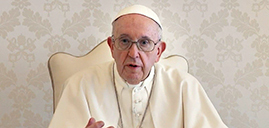 Pope Francis says getting vaccine is 'act of love'