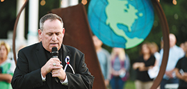 Bishop participates with local clergy to mark 20th anniversary of 9/11