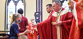 40 Hours of Devotion concludes with  Mass celebrated by Bishop