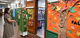 Bishop helps Chatham's St. Patrick School mark its sesquicentennial year