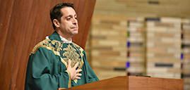 Father David Monteleone installed as pastor of St. Philip the Apostle Parish in Clifton