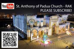 Subscribe to our Youtube channel to watch online stream of mass