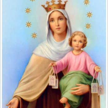 OUR LADY OF MOUNT CARMEL FEAST-SUNDAY JULY 16TH