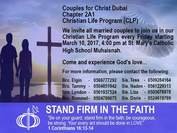 Chapter 2A1 of Couples for Christ