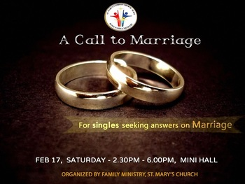 A Call to Marriage