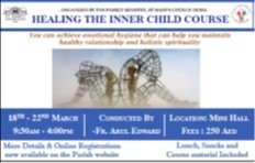 Family Ministry - Inner Healing Course