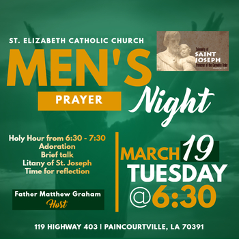 Men's Prayer Night