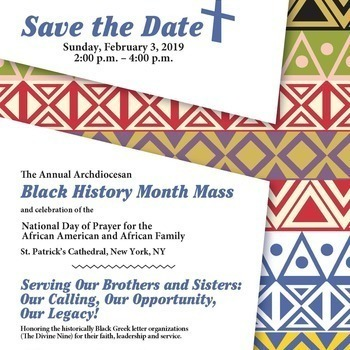 Annual Black History Month Mass