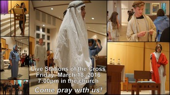 Youth Live Stations of the Cross