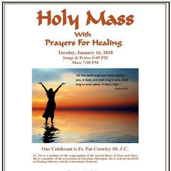 Holy Mass with Prayer for Healing