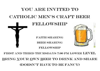 Catholic Men's Craft Beer Fellowship