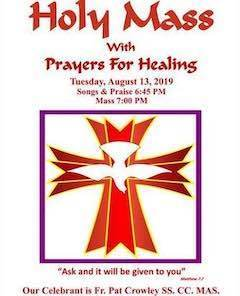 Holy Mass with Prayers for Healing