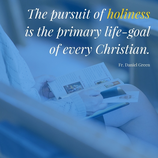 """The pursuit of holiness is the primary life-goal of every Christian"" - Fr. Daniel Green"