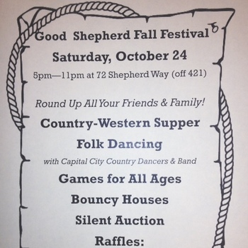 Fall Festival: Oct. 24, 5-11pm