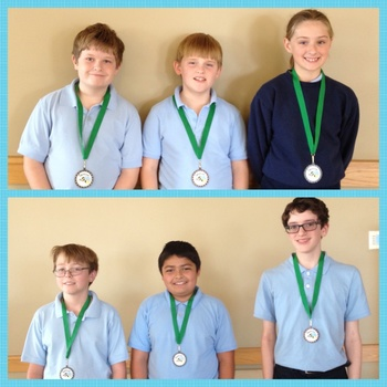 School Spelling Bee Winners