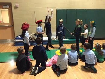 Shakespeare Alive at GSCS thanks to Run for Gold