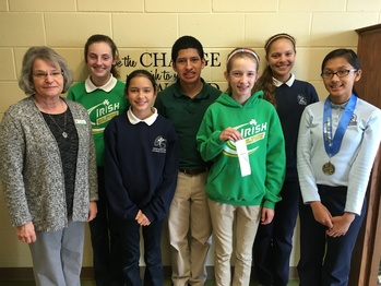 GS students earn top places at Diocesan Science Fair