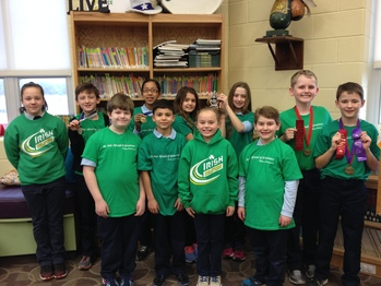 Elementary Academic Team Medals at District