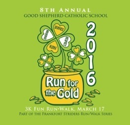 Good Shepherd IRISH Run for the Gold Race Results