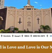 Sign up for Parish Midweek E-News