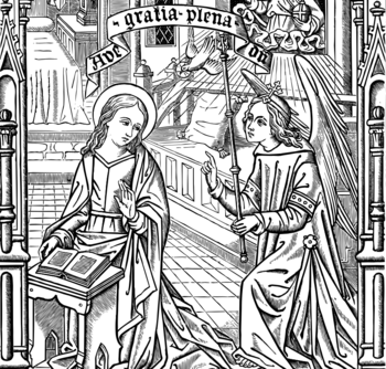 Annunciation of the Blessed Virgin Mary (transferred)