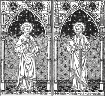 Saints Peter & Paul Apostles