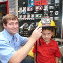 Sacred Heart Catholic School Welcomes Fire Department