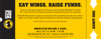 Buffalo Wild Wings Dine Out
