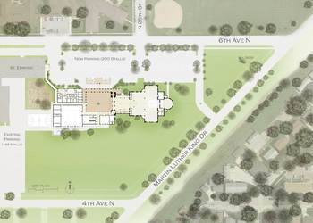 What does the Diocese have to say about a one site plan?