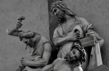 What will happen with the Stations of the Cross at Sacred Heart?