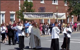 Celebration of the Feast of Corpus Christi - Mass and Procession