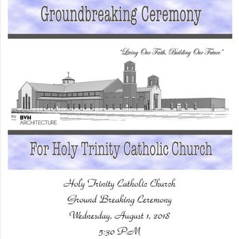 Holy Trinity Catholic Church Groundbreaking Ceremony!