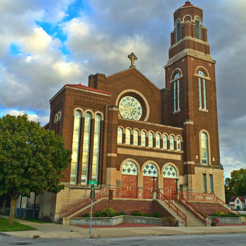What will happen to Sacred Heart Church Stations of the Cross?