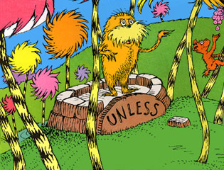 "Fr Feller will be live Tuesday to read, ""The Lorax"""