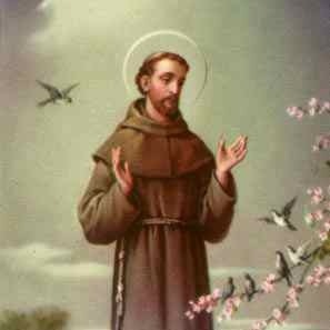 Saint Francis of Assisi - Blessing of the Animals