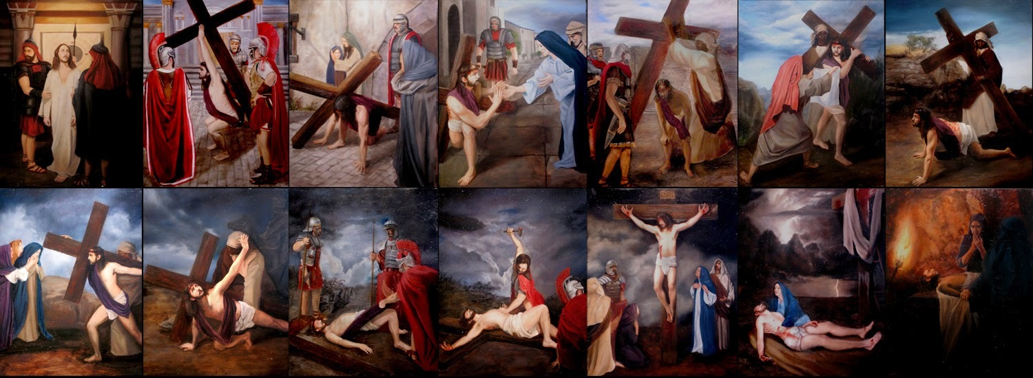 Stations of the Cross/Estaciones de la Cruz