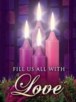The days of Advent are drawing to a close