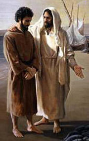 Jesus asks his disciples what the word on the street is about him.