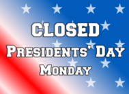 Parish Office Closed for President's Day