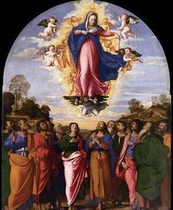 When we think of the Blessed Virgin Mary, we conger up images of a perfect woman.