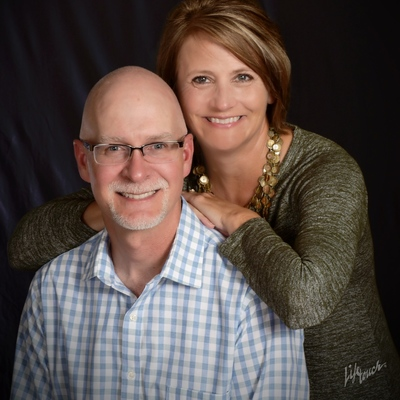 Julie Lammers and Scot Brown