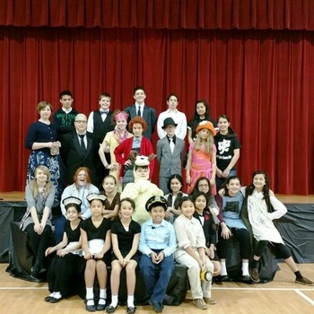 Annie Jr. Musical Play by our Drama Students