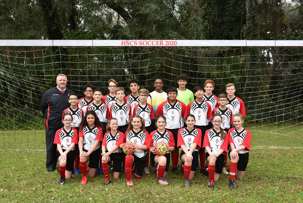Holy Spirit's Undefeated (15-0) Soccer Team 2020