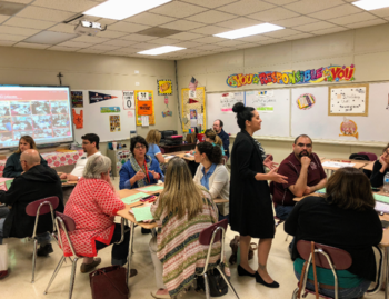 St. Peter's Faculty Leads Professional Development