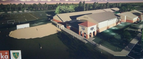 Front View of Proposed Gym and Cafetorium